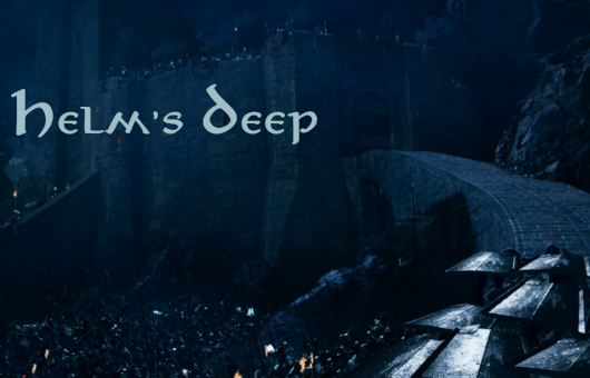 Helm's Deep Warcraft 3: Featured map big map teaser