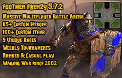 Reforged Footmen Frenzy Warcraft 3: Featured map medium map teaser