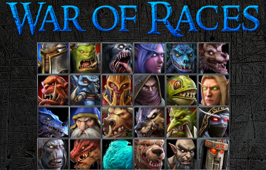 War of Races Warcraft 3: Featured map big teaser image