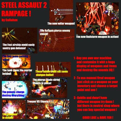 Steel assault 2 Rampage v1.6 - Warcraft 3: Custom Map avatar