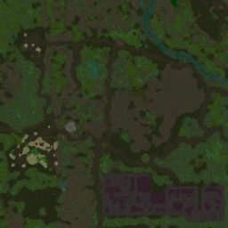 Undead Assault II 1.6.6a_4z_u6 - Warcraft 3: Mini map