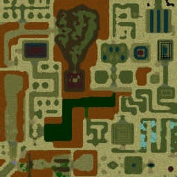 22-thigotd - Warcraft 3: Mini map