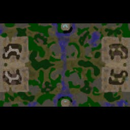 Conflict of Kingdoms Beta 1.20 - Warcraft 3: Mini map
