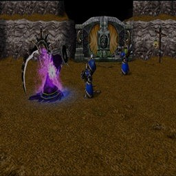 Zombie ( Part 1 ) - Warcraft 3: Mini map