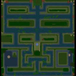 Mud Castle Defense-v6.2 - Warcraft 3: Mini map