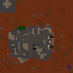 Terran Base Defence v46 - Warcraft 3: Mini map