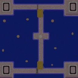Ultrarius (Island Wars) - Warcraft 3: Mini map
