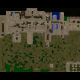 Wrath of Kael [4.6] - Warcraft 3: Mini map