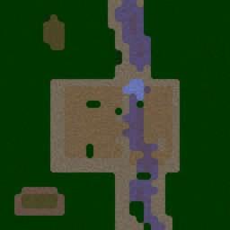 Cinematics - Sasuke vs Rock Lee - Warcraft 3: Mini map