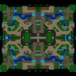 7K: Silvermoon City - Warcraft 3: Mini map