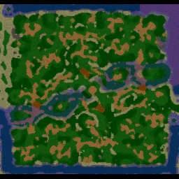 Dividir y Conquistar-Ultimate-6.3 - Warcraft 3: Mini map