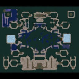 Angel Arena Anime Gods - Warcraft 3: Mini map