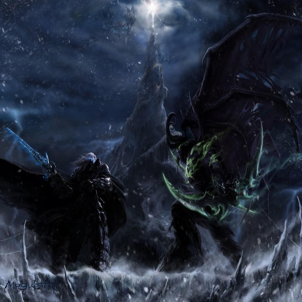 Download Map Arthas Vs Illidan By Golenegg Hero Arena 1