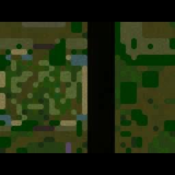 Battle Heroes 0.01 - Warcraft 3: Mini map