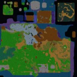 DBZ Tribute Elite 2.5.4v - Warcraft 3: Mini map