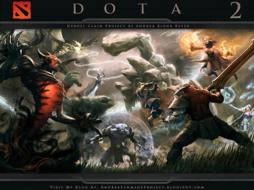 Download Map Dota 2 Heroes Clash Hero Arena 3 Different