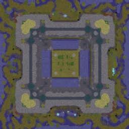 Hero Push 4.1 - Warcraft 3: Mini map