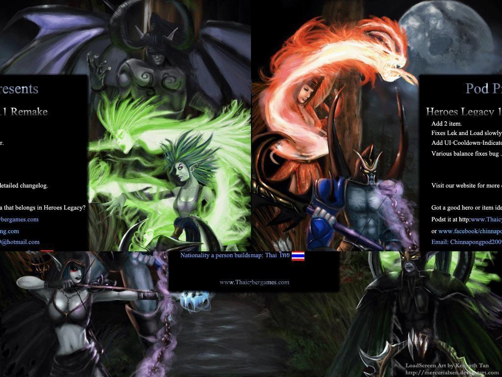 Heroes Legacy 1.1 remake - Warcraft 3: Custom Map avatar