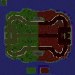 Heroes Legacy 1.1 remake - Warcraft 3: Mini map