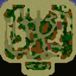 Heroic Town 2.71b Ko - Warcraft 3: Mini map