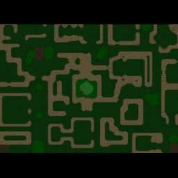 Hunters Vs. The Hunted V.38 - Warcraft 3: Mini map