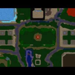 Naruto Battle Arena v2.8 - Warcraft 3: Mini map