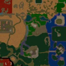 Naruto shippuden World Ultimate - Warcraft 3: Mini map