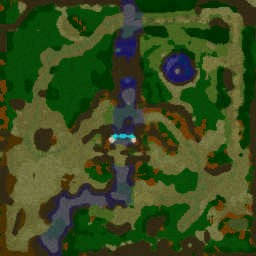 Naruto Shippuuden Leagues v1.2 - Warcraft 3: Mini map