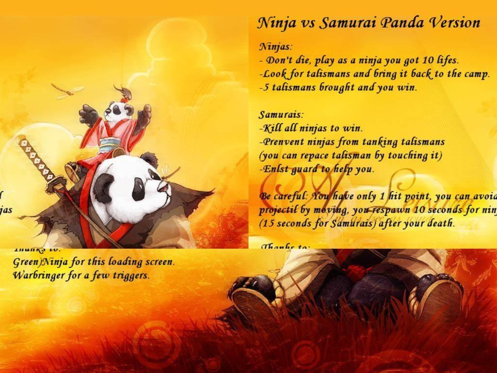 Ninja vs Samurai Panda Version V 1.4 - Warcraft 3: Custom Map avatar