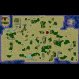 Orcs & Elves 2008FinalTE - Warcraft 3: Mini map