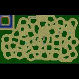 Orcs & Elves - Classic - Warcraft 3: Mini map