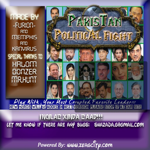 Download map Pakistan's Political Fight - Hero Arena | 2