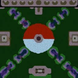Pokemon Arena v1 - Warcraft 3: Mini map