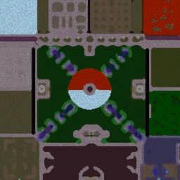 Pokemon Arena v1.8 - Warcraft 3: Mini map