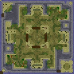 Ruins v2.4a - Warcraft 3: Mini map