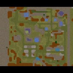 Shadowraze Wars v11 - Warcraft 3: Mini map