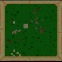Sniper War - Warcraft 3: Mini map