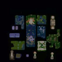 Thien Kiem v6.5 FIX Warcraft 3: Featured map mini map