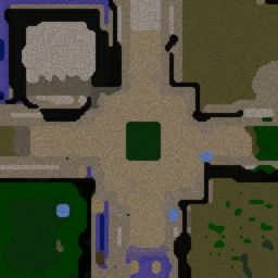 UnLiMiT3D AreNa 1.2a - Warcraft 3: Mini map