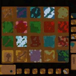 19Bosses Hard 4.85 - Warcraft 3: Mini map