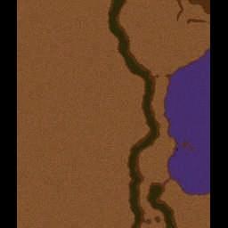 300- Path To Xerxes - Warcraft 3: Mini map