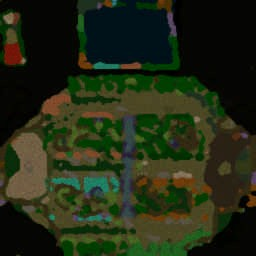 D-day Survival 1.23 - Warcraft 3: Mini map