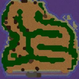 Dead Island - Warcraft 3: Mini map
