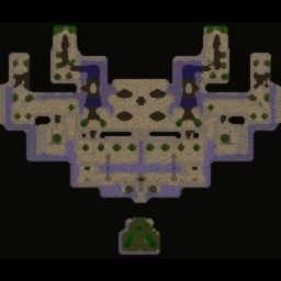 Defending Ascenders - Warcraft 3: Mini map