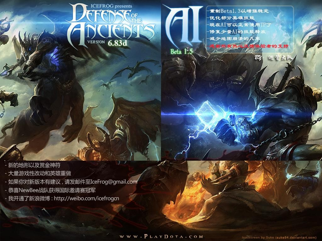 Download Map Dota Cn Hero Defense Survival 3 Different