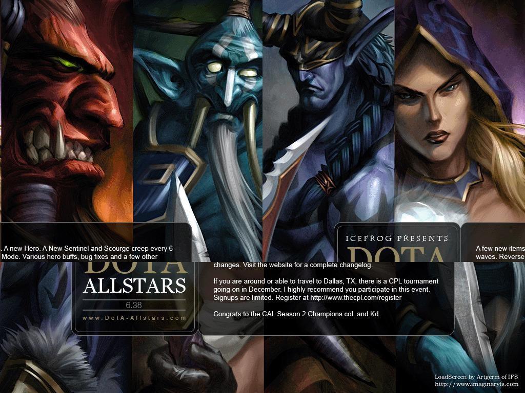 Download Map Dota Allstars By Aeyah Hero Defense Survival