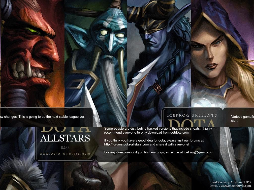 Download map DotA Allstars - Hero Defense & Survival | 270