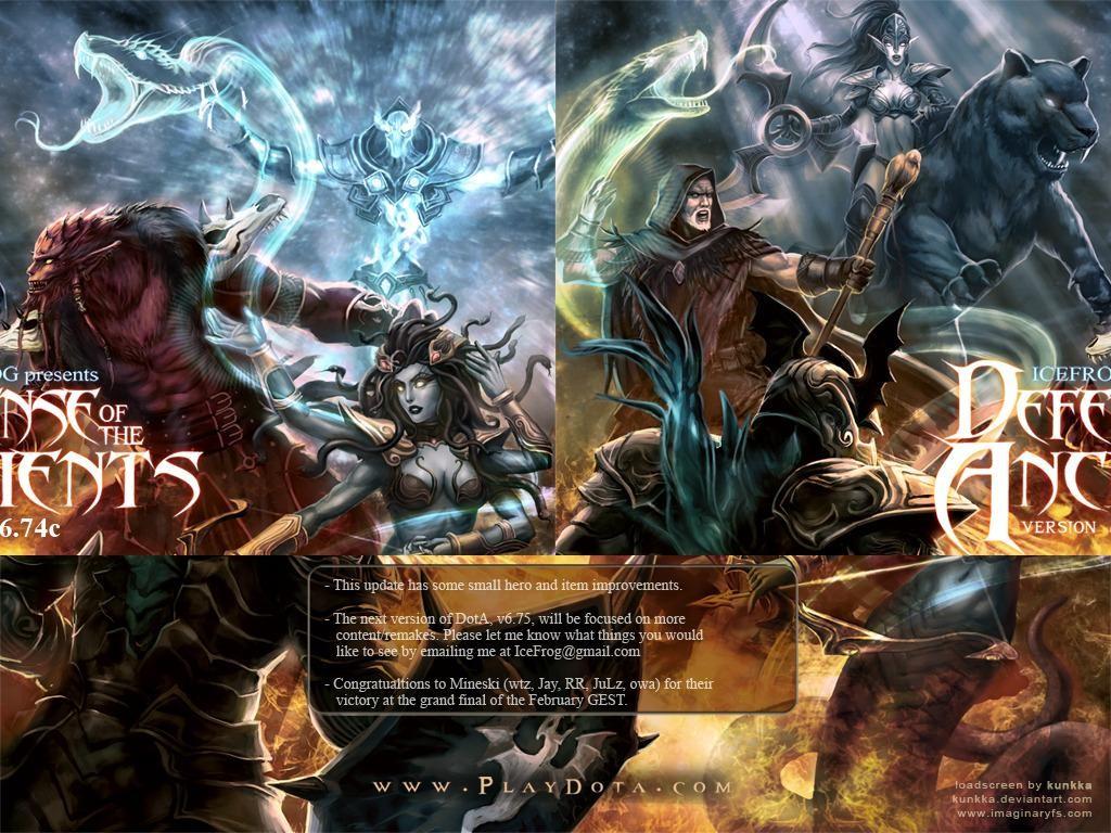 DotA v6.74c OMG v1.1 - Warcraft 3: Custom Map avatar