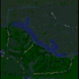 DotA v6.74c OMG v1.1 - Warcraft 3: Mini map