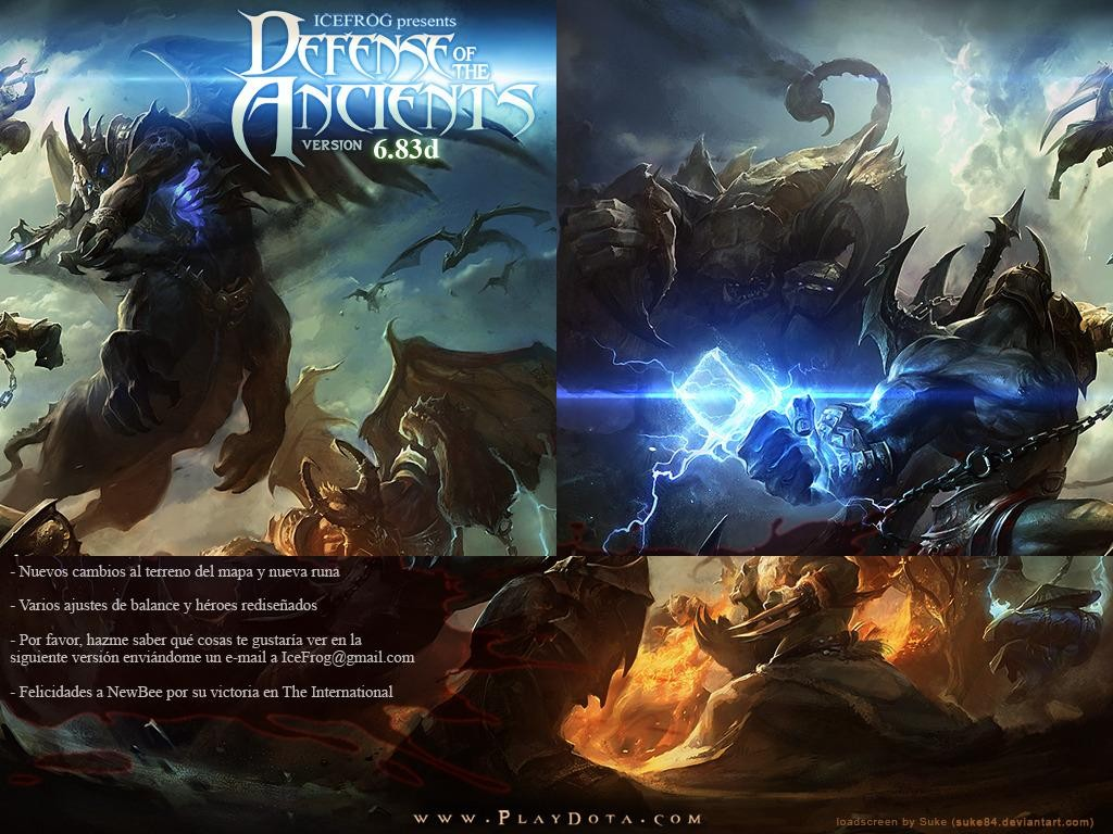 DotA v6.83d ESP - Warcraft 3: Custom Map avatar